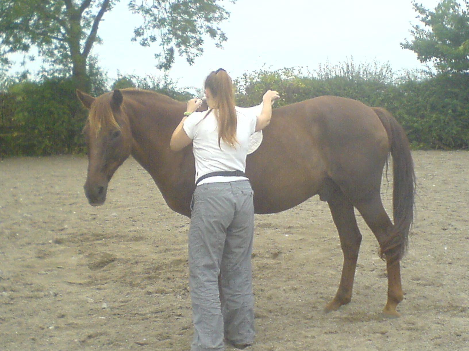 Rusty and me by Fiona 023